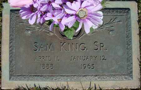 KING, SR., SAM - Faulkner County, Arkansas | SAM KING, SR. - Arkansas Gravestone Photos