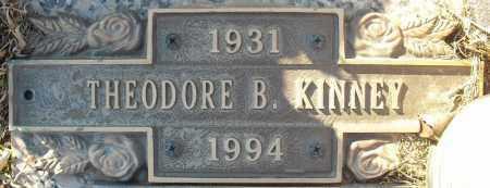 KINNEY, THEODORE B. - Faulkner County, Arkansas | THEODORE B. KINNEY - Arkansas Gravestone Photos