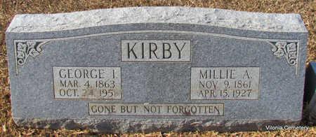 KIRBY, MILLIE - Faulkner County, Arkansas | MILLIE KIRBY - Arkansas Gravestone Photos