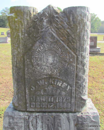 KIRBY, J.W. - Faulkner County, Arkansas | J.W. KIRBY - Arkansas Gravestone Photos