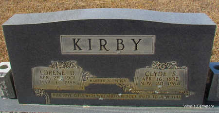 KIRBY, CLYDE - Faulkner County, Arkansas | CLYDE KIRBY - Arkansas Gravestone Photos