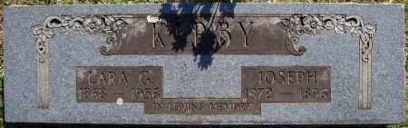 KIRBY, JOSEPH - Faulkner County, Arkansas | JOSEPH KIRBY - Arkansas Gravestone Photos
