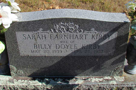 KIRBY, SARAH - Faulkner County, Arkansas | SARAH KIRBY - Arkansas Gravestone Photos