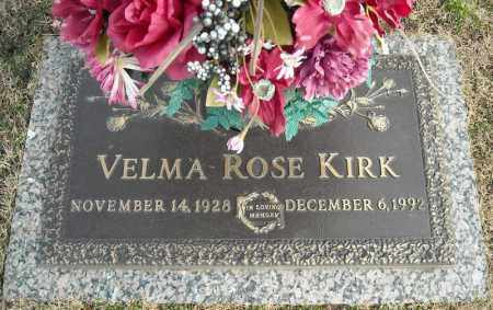 KIRK, VELMA ROSE - Faulkner County, Arkansas | VELMA ROSE KIRK - Arkansas Gravestone Photos