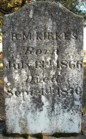 KIRKES, R.M. - Faulkner County, Arkansas | R.M. KIRKES - Arkansas Gravestone Photos