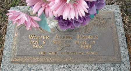 KNOBLE, WALTER ALLEN - Faulkner County, Arkansas | WALTER ALLEN KNOBLE - Arkansas Gravestone Photos