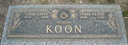 KOON, JAMES FRANK - Faulkner County, Arkansas | JAMES FRANK KOON - Arkansas Gravestone Photos