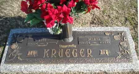 KRUEGER, DELMAR - Faulkner County, Arkansas | DELMAR KRUEGER - Arkansas Gravestone Photos