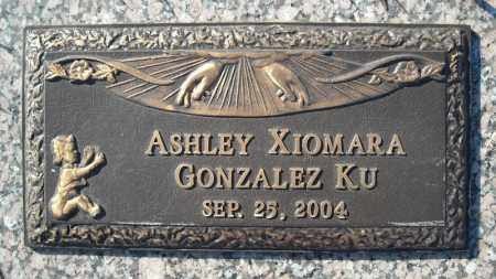 KU, ASHLEY XIOMARA GONZALEZ - Faulkner County, Arkansas | ASHLEY XIOMARA GONZALEZ KU - Arkansas Gravestone Photos