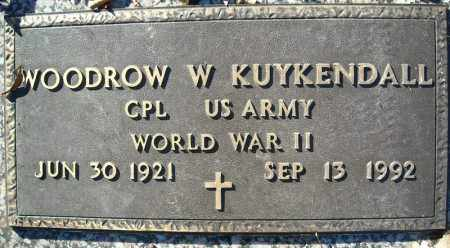 KUYKENDALL  (VETERAN WWII), WOODROW W - Faulkner County, Arkansas | WOODROW W KUYKENDALL  (VETERAN WWII) - Arkansas Gravestone Photos