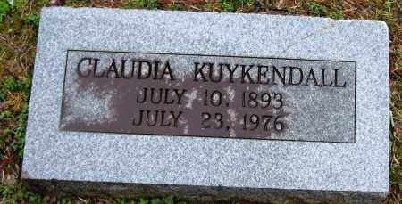 KUYKENDALL, CLAUDIA - Faulkner County, Arkansas | CLAUDIA KUYKENDALL - Arkansas Gravestone Photos