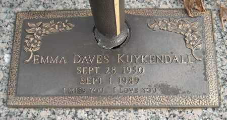 KUYKENDALL, EMMA - Faulkner County, Arkansas | EMMA KUYKENDALL - Arkansas Gravestone Photos