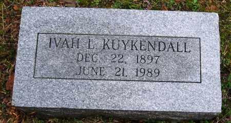 KUYKENDALL, IVAH L. - Faulkner County, Arkansas | IVAH L. KUYKENDALL - Arkansas Gravestone Photos
