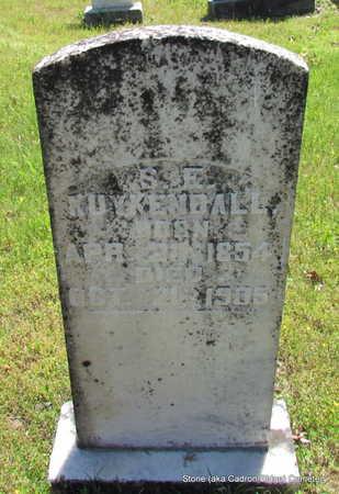 KUYKENDALL, S.E. - Faulkner County, Arkansas | S.E. KUYKENDALL - Arkansas Gravestone Photos