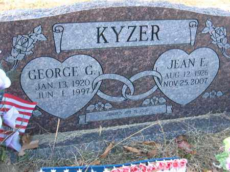 KYZER, JEAN E. - Faulkner County, Arkansas | JEAN E. KYZER - Arkansas Gravestone Photos