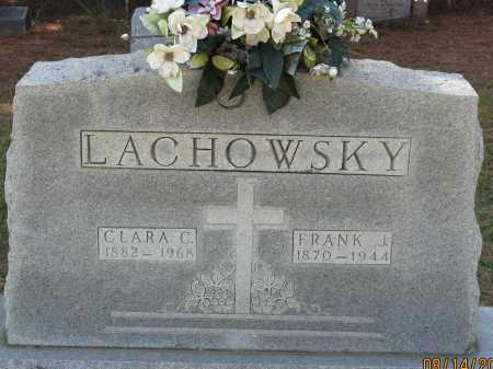 LACHOWSKY, FRANK J. - Faulkner County, Arkansas | FRANK J. LACHOWSKY - Arkansas Gravestone Photos