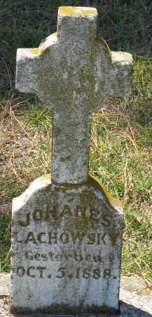 LACHOWSKY, JOHANES - Faulkner County, Arkansas | JOHANES LACHOWSKY - Arkansas Gravestone Photos