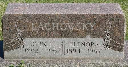 LACHOWSKY, ELENORA - Faulkner County, Arkansas | ELENORA LACHOWSKY - Arkansas Gravestone Photos