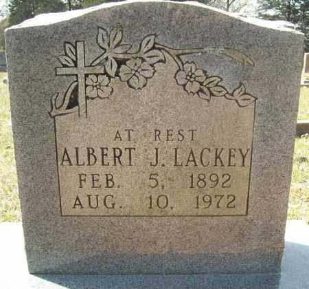 LACKEY, ALBERT JACKSON - Faulkner County, Arkansas | ALBERT JACKSON LACKEY - Arkansas Gravestone Photos