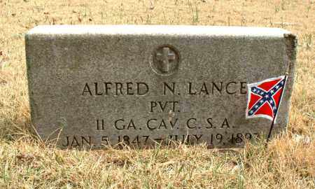 LANCE  (VETERAN CSA), ALFRED N - Faulkner County, Arkansas | ALFRED N LANCE  (VETERAN CSA) - Arkansas Gravestone Photos