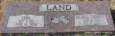 LAND, CYRIL - Faulkner County, Arkansas | CYRIL LAND - Arkansas Gravestone Photos