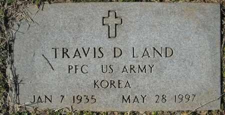 LAND (VETERAN KOR), TRAVIS D. - Faulkner County, Arkansas   TRAVIS D. LAND (VETERAN KOR) - Arkansas Gravestone Photos