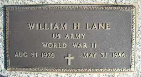 LANE (VETERAN WWII), WILLIAM H - Faulkner County, Arkansas | WILLIAM H LANE (VETERAN WWII) - Arkansas Gravestone Photos