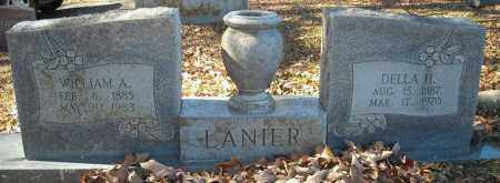 LANIER, WILLIAM A. - Faulkner County, Arkansas | WILLIAM A. LANIER - Arkansas Gravestone Photos