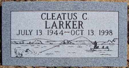 LARKER, CLEATUS C. - Faulkner County, Arkansas | CLEATUS C. LARKER - Arkansas Gravestone Photos