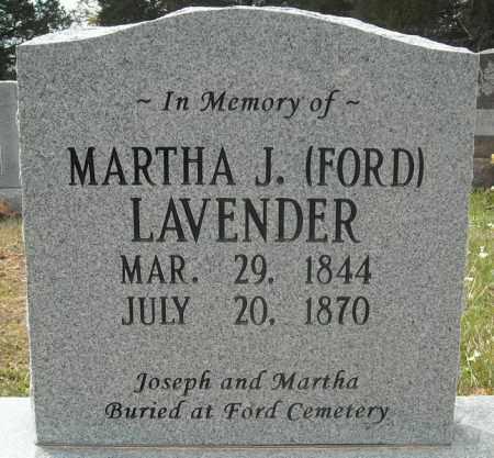 FORD LAVENDER (CENOTAPH), MARTHA J. - Faulkner County, Arkansas | MARTHA J. FORD LAVENDER (CENOTAPH) - Arkansas Gravestone Photos