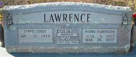 HARRINGTON LAWRENCE, NORMA - Faulkner County, Arkansas | NORMA HARRINGTON LAWRENCE - Arkansas Gravestone Photos