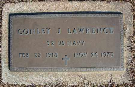 LAWRENCE (VETERAN), CONLEY J - Faulkner County, Arkansas | CONLEY J LAWRENCE (VETERAN) - Arkansas Gravestone Photos