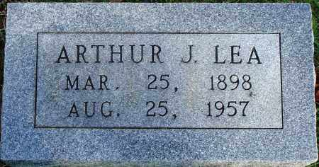 LEA, ARTHUR J. - Faulkner County, Arkansas | ARTHUR J. LEA - Arkansas Gravestone Photos