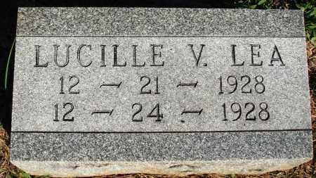 LEA, LUCILLE V. - Faulkner County, Arkansas | LUCILLE V. LEA - Arkansas Gravestone Photos