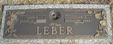 LEBER, LUCIAN J. - Faulkner County, Arkansas | LUCIAN J. LEBER - Arkansas Gravestone Photos