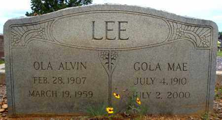 LEE, GOLA MAE - Faulkner County, Arkansas | GOLA MAE LEE - Arkansas Gravestone Photos