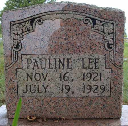LEE, PAULINE - Faulkner County, Arkansas | PAULINE LEE - Arkansas Gravestone Photos