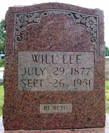 LEE, WILL - Faulkner County, Arkansas | WILL LEE - Arkansas Gravestone Photos