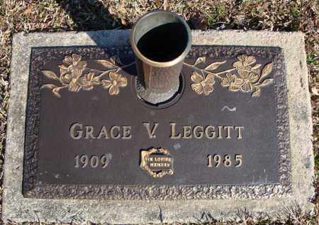 LEGGITT, GRACE V. - Faulkner County, Arkansas | GRACE V. LEGGITT - Arkansas Gravestone Photos