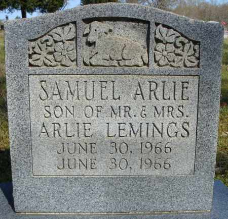 LEMINGS, SAMUEL ARNIE - Faulkner County, Arkansas | SAMUEL ARNIE LEMINGS - Arkansas Gravestone Photos