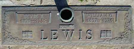LEWIS, BEVIE J. - Faulkner County, Arkansas | BEVIE J. LEWIS - Arkansas Gravestone Photos
