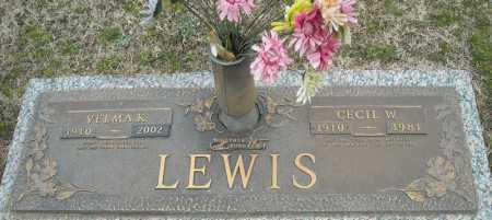 LEWIS, CECIL W. - Faulkner County, Arkansas | CECIL W. LEWIS - Arkansas Gravestone Photos