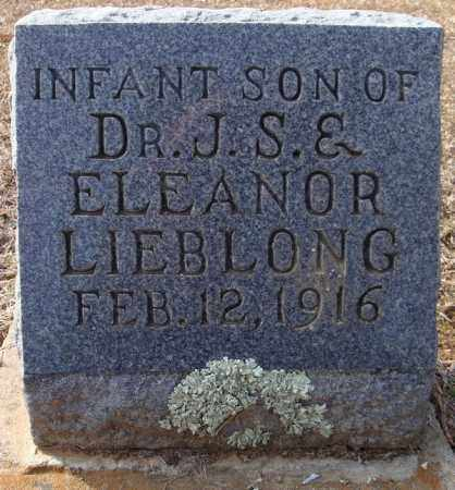 LIEBLONG, INFANT SON - Faulkner County, Arkansas | INFANT SON LIEBLONG - Arkansas Gravestone Photos