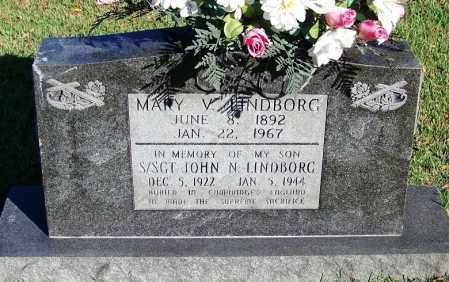 LINDBORG, MARY V - Faulkner County, Arkansas | MARY V LINDBORG - Arkansas Gravestone Photos