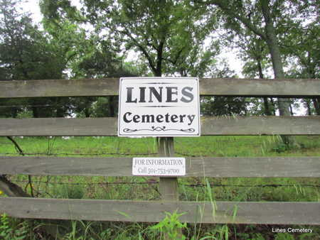 *LINES CEMETERY, SIGN & CONTACT - Faulkner County, Arkansas | SIGN & CONTACT *LINES CEMETERY - Arkansas Gravestone Photos