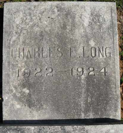 LONG, CHARLES E. - Faulkner County, Arkansas | CHARLES E. LONG - Arkansas Gravestone Photos