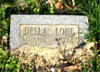 LONG, DELLA - Faulkner County, Arkansas | DELLA LONG - Arkansas Gravestone Photos