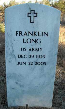 LONG (VETERAN), FRANKLIN - Faulkner County, Arkansas | FRANKLIN LONG (VETERAN) - Arkansas Gravestone Photos