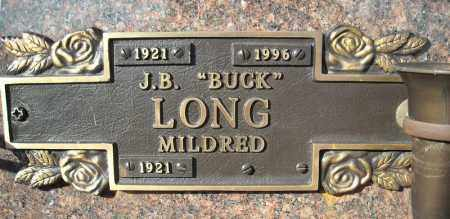 "LONG, J.B. ""BUCK"" - Faulkner County, Arkansas 