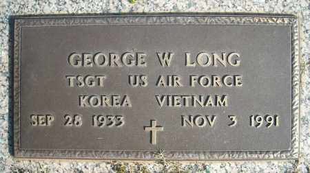LONG (VETERAN 2 WARS), GEORGE W - Faulkner County, Arkansas | GEORGE W LONG (VETERAN 2 WARS) - Arkansas Gravestone Photos